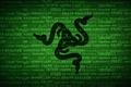 Picture Black, Wallpaper, Logo, Green, Razer