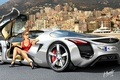 Picture painting, supercars, mercedes