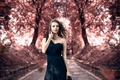 Picture Alessandro Di Cicco, autumn, Touch me gently, makeup, the beauty