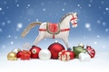 Picture gifts, merry christmas, snow, toys, doll, merry Christmas, toy, ornaments, doll, wood horse, snow, 2014, ...