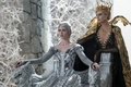 Picture Charlize Theron, crown, fantasy, Charlize Theron, the throne, Emily Blunt, Emily Blunt, Ravenna, Freya, The ...