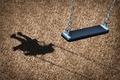 Picture shadow, park, missing children, hammock, empty