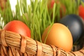Picture Easter, basket, eggs, spring