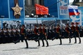 Picture holiday, victory day, Moscow, March, the city, red square