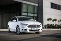 Picture 2015, Front, Tuning, White, Mondeo, photo, Car, Hybrid, Ford