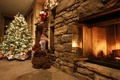 Picture balls, decoration, holiday, toys, tree, branch, New Year, Christmas, Christmas, New Year, living room, interior, ...
