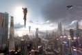 Picture the sky, the sun, the city, Killzone Shadow fall