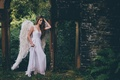 Picture the situation, wings, dress, angel, girl, Grace Bowker