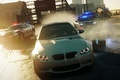 Picture road, police, BMW, NFS Most Wanted 2012