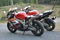 Picture bike, Honda, sport, road, motorcycles, forest