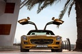 Picture SLS AMG Desert Gold Edition, Door, Gold, Steps, Mercedes Benz, Palma