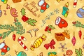 Picture vector, New Year, candles, holidays, winter, candy, toys, New Year, Christmas, texture, Christmas