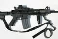Picture EOTech, tactical flashlight, custom gun, gun, sling, M4A1, custom, rifle, weapon, retractable butt