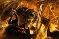 Picture battle, Goblin, fire