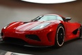 Picture Koenigsegg, red, agera