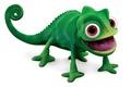 Picture Pascal, chameleon, long tongue, Rapunzel