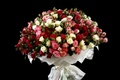 Picture flowers, roses, beauty, bouquet, black background