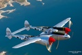 Picture Jet, Lockheed P-38 Lightning, WW2, Aviation, Plane, Aircraft, American Fighter