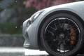 Picture wet, drops, close-up, headlight, wheel, mercedes, drives, amg, bokeh, driveclub