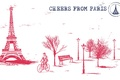 Picture bike, paris, bicycle, France, bench, bench, france, Paris, Eiffel tower, city, Eiffel Tower, trees, the ...