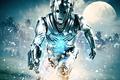 Picture water, the moon, robots, electricity, moon, cyborgs, Doctor Who, Doctor Who, Cyberman, Cybermen, the Cybermen