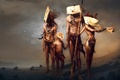 Picture figure, tribe, ethnicity, the natives