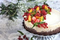 Picture currants, cake, strawberry, berries