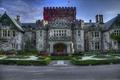 Picture flowers, design, Park, Canada, beds, Hartley, castle