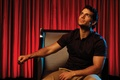 Picture LA Times, Henry Cavill, Henry Cavill, Los Angeles Times, Genaro Molina, red, actor, curtains, chair, ...