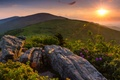 Picture sunset, mountains, Tennessee, Appalachian, Appalachian Mountains, Tn, Roan Mountain State Park, Roan Mountain