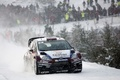 Picture Ford, Winter, Snow, Ford, WRC, Rally, Rally, Fiesta, The front, Evgeny Novikov, Snowfall