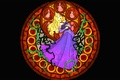 Picture tale, stained glass, Aurora, Disney, Princess, Sleeping beauty, Sleeping Beauty