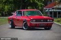 Picture red, Toyota, Coupe, 1970, Crown, Toyota Crown Coupe