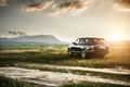 Picture Land Rover, Range Rover IV, field, sunset