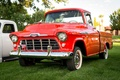 Picture classic, the front, 1956, Chevy 3100