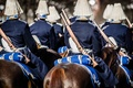 Picture rifles, Sverige, Royal Horse Guards, guard, soldiers