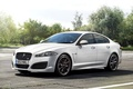 Picture UK-Spec, Beautiful, The front, White, Jaguar, Wallpaper, White, Car, Car, Machine, Speed Pack, XFR, The ...