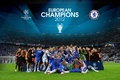 Picture wallpaper, sport, team, football, Chelsea FC, players, UEFA Champions League Winners