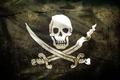 Picture flag, skull, Pirates