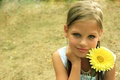 Picture flower, mood, girl