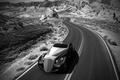 Picture road, the steppe, hills, the concept, Rolls-Royce Jonckheere Aerodynamic Coupe II, Ugur Sahin
