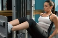 Picture fitness, gym machine, female, workout