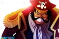 Picture by i-sanx, Gol D. Roger, Pirate King, Gold Roger, One Piece, oriental, asiatic, asian, scarf, ...