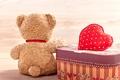Picture bear, heart, love, toy, bear, cute, plush, romantic, love, Teddy, heart