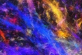 Picture light, pattern, paint, color, rainbow, the volume, spot, relief