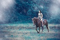 Picture girl, horse, top, Alessandro Di Cicco, Away from you
