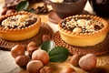 Picture sweets, nuts, cakes, chocolate, dessert, tartlets, forest