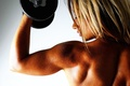 Picture girl, Strength, Tanya, Beauty, strength and beauty, dumbbell