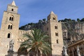 Picture Cathedral, Palma, Italy, Cefalu, Sicily, mountain
