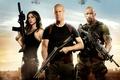 Picture Bruce Willis, Bruce Willis, Dwayne Johnson, Dwayne Johnson, Roadblock, Lady Jaye, G.I. Joe: Retaliation, G. ...